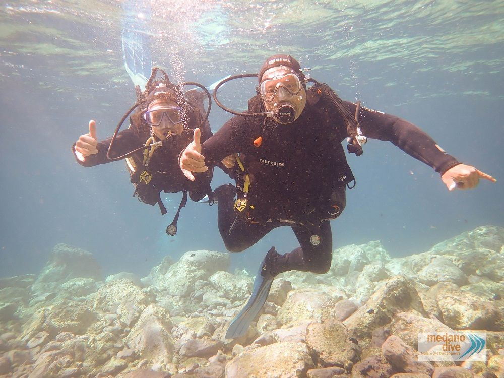 diving begginers tenerife