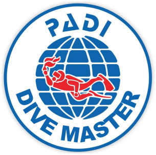 padi divemaster logo