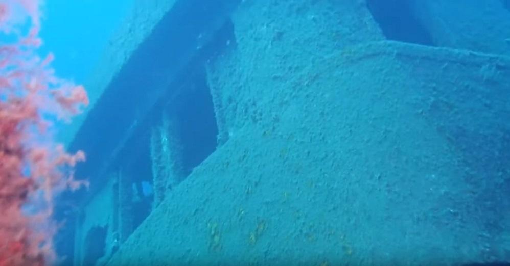 wreck diving in tenerife